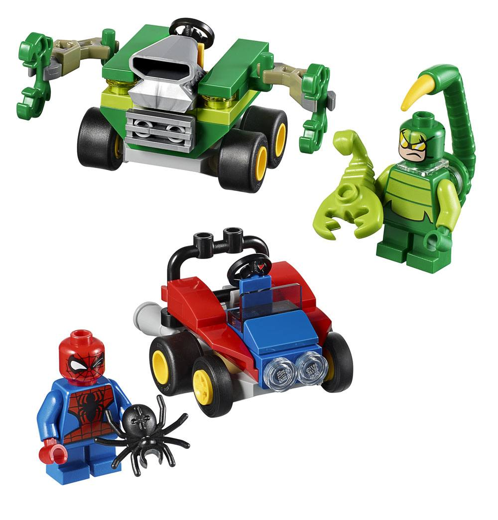 LEGO® Marvel Super Heroes™ Mighty Micros Spider-Man vs. Scorpion