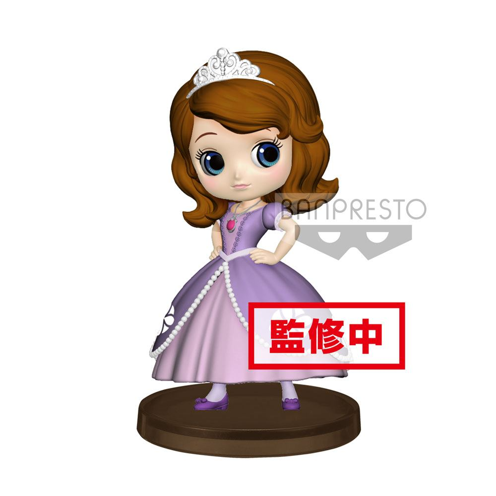 Disney Q Posket Petit Mini Figure Sofia 7 cm