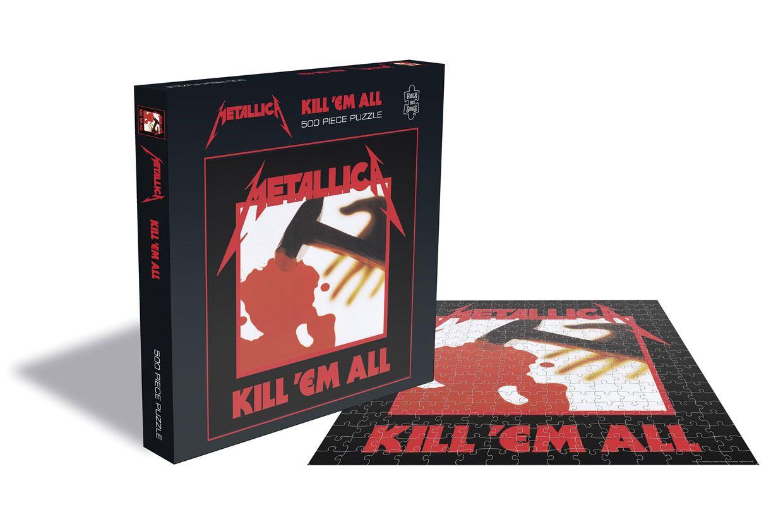 Metallica Puzzle Kill 'Em All