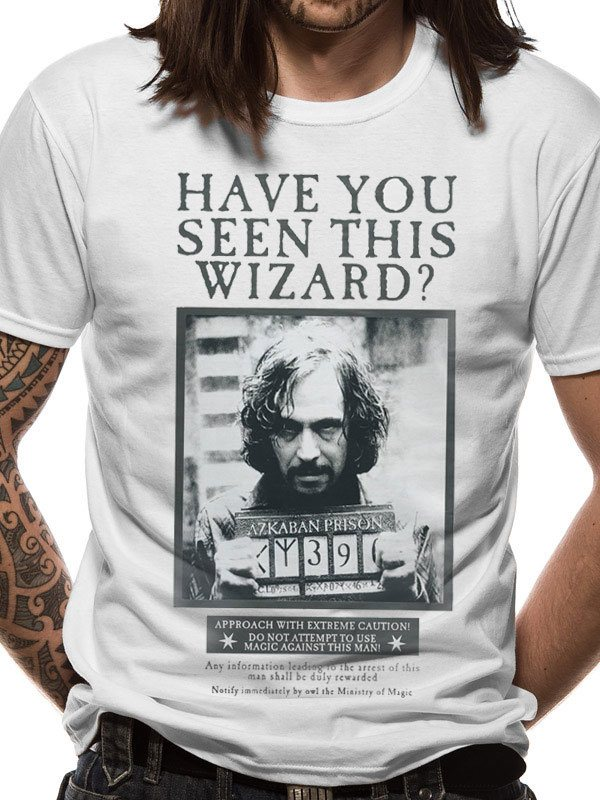 Harry Potter T-Shirt Sirius Poster Size XL