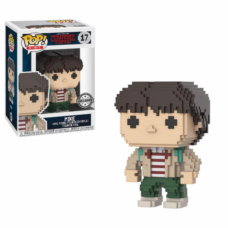 Stranger Things POP! 8-BIT Vinyl Figure Mike 9 cm