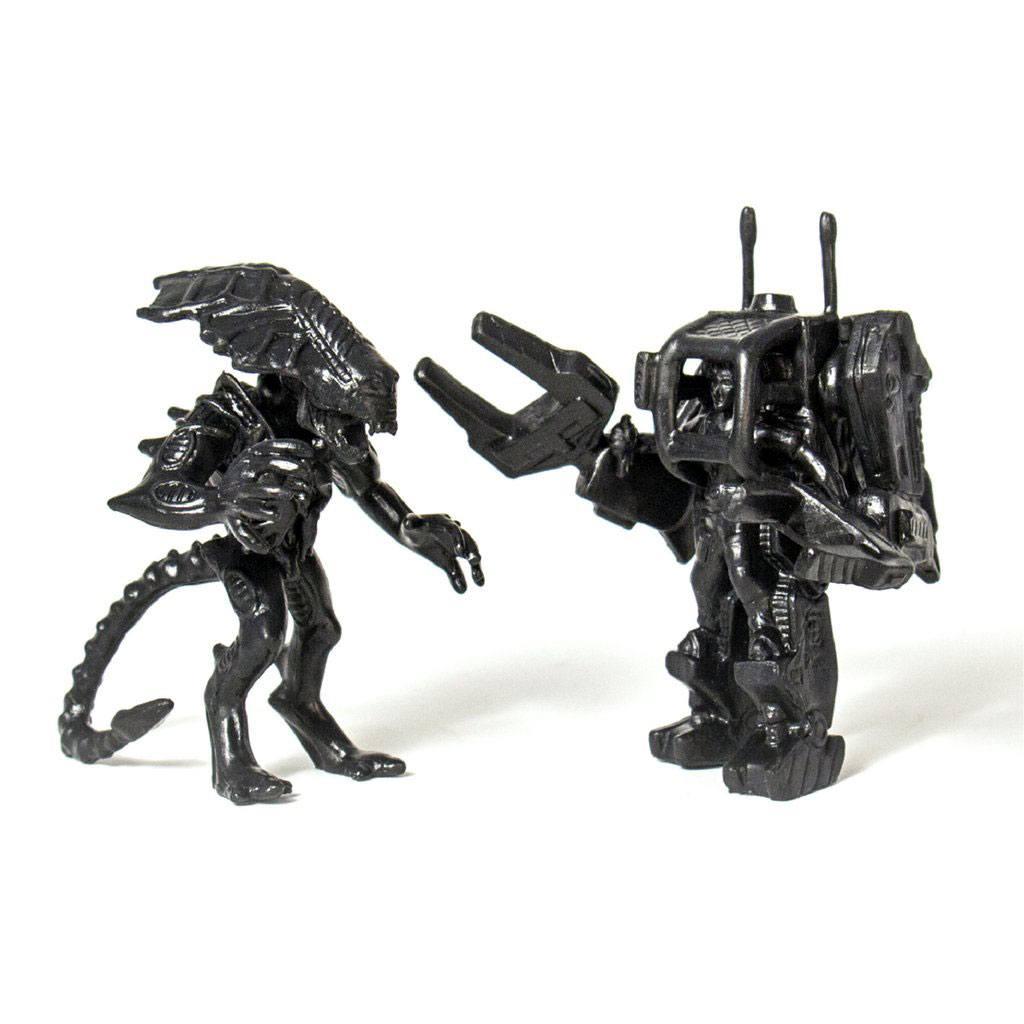 Aliens MUSCLE Figures 2-Pack Ripley & Alien Queen Black SDCC 2017 4 cm