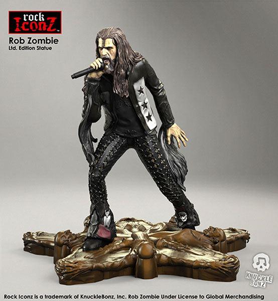 Rob Zombie Rock Iconz Statue 20 cm