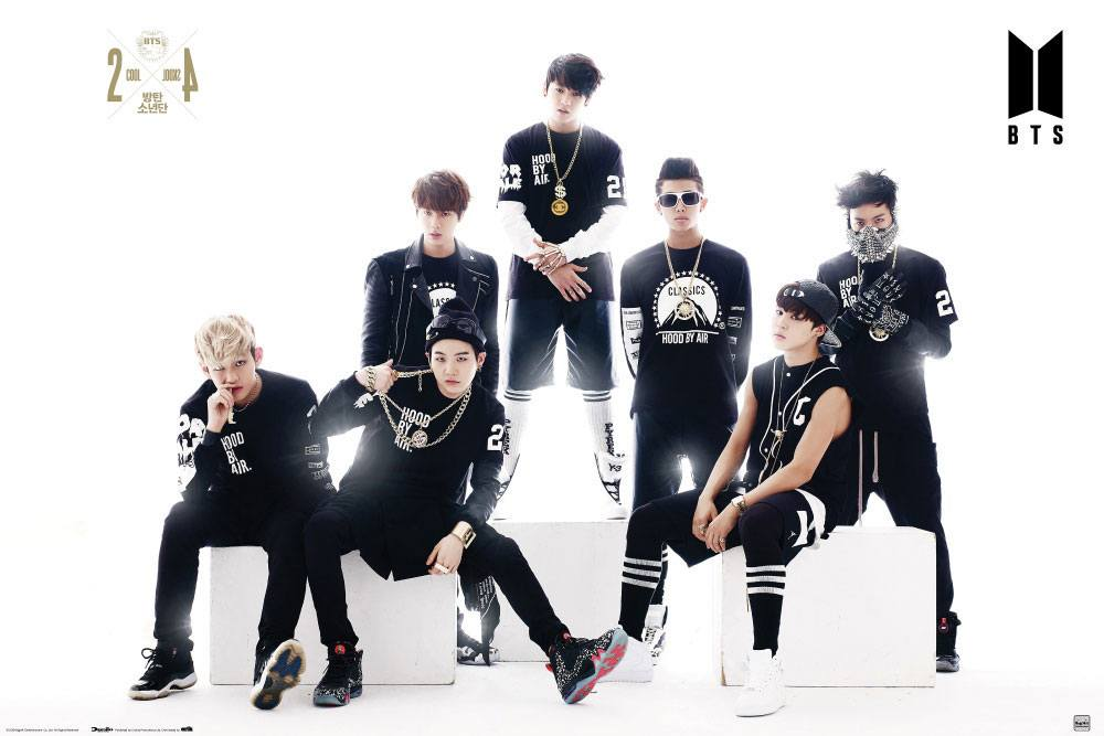 BTS Poster Pack Black & White 61 x 91 cm (3)