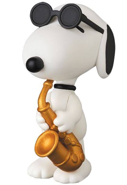 Peanuts UDF Series 5 Mini Figure Saxophone Player Snoopy 7 cm