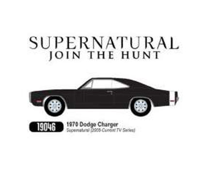 Supernatural Diecast Model 1/18 1970 Dodge Charger