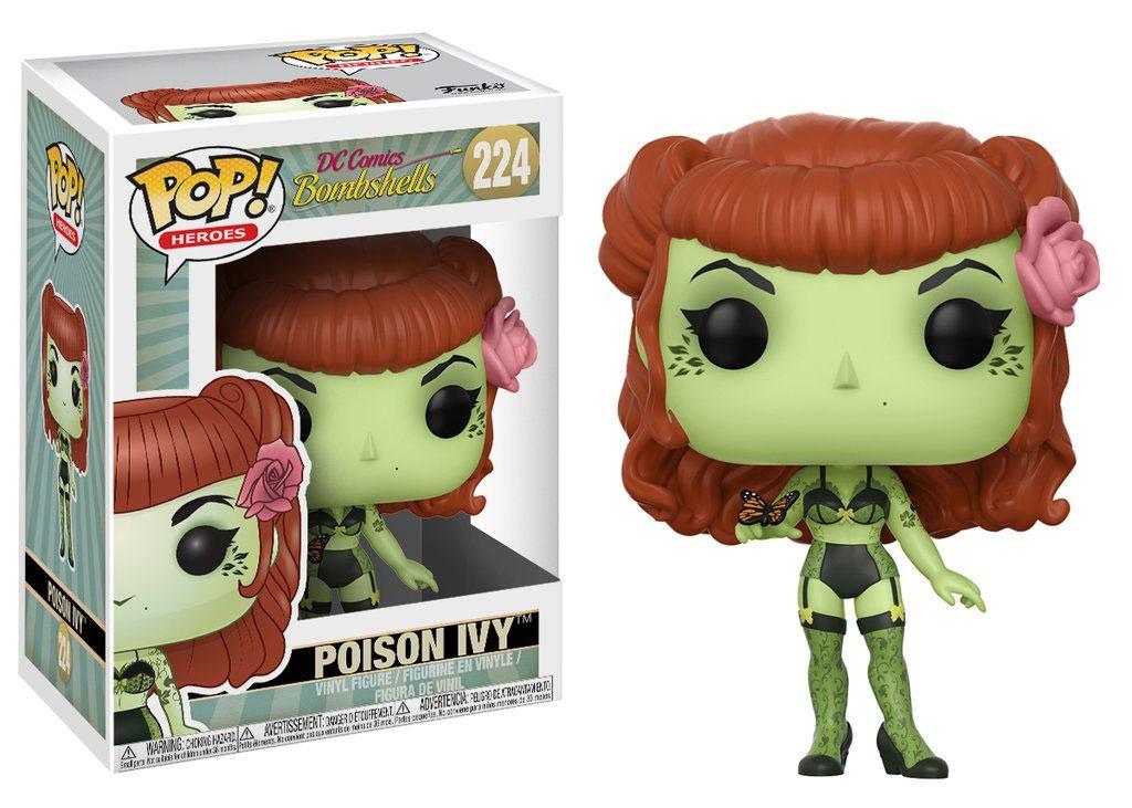 DC Comics Bombshells POP! Heroes Vinyl Figure Poison Ivy 9 cm