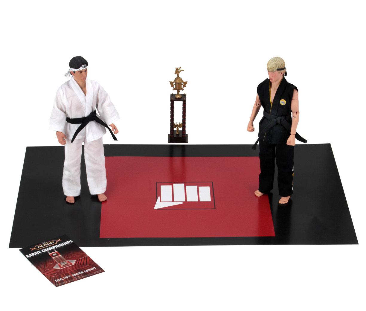 Karate Kid Retro Action Figure 2-Pack Tournament 20 cm