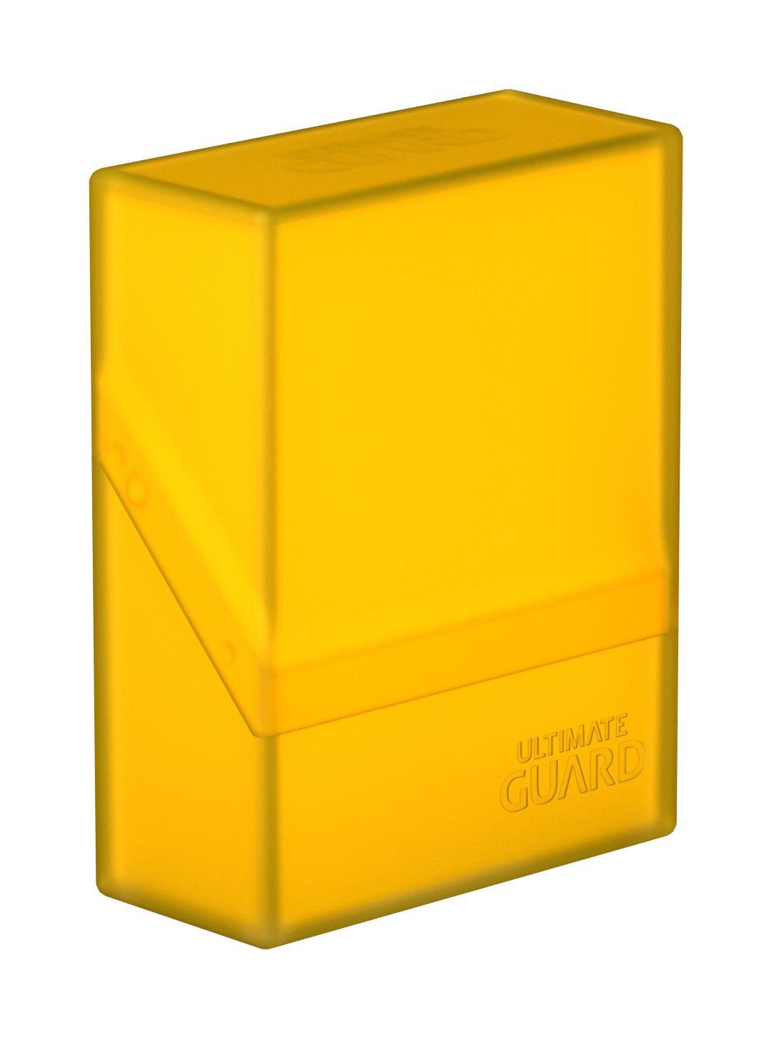 Ultimate Guard Boulder™ Deck Case 40+ Standard Size Amber