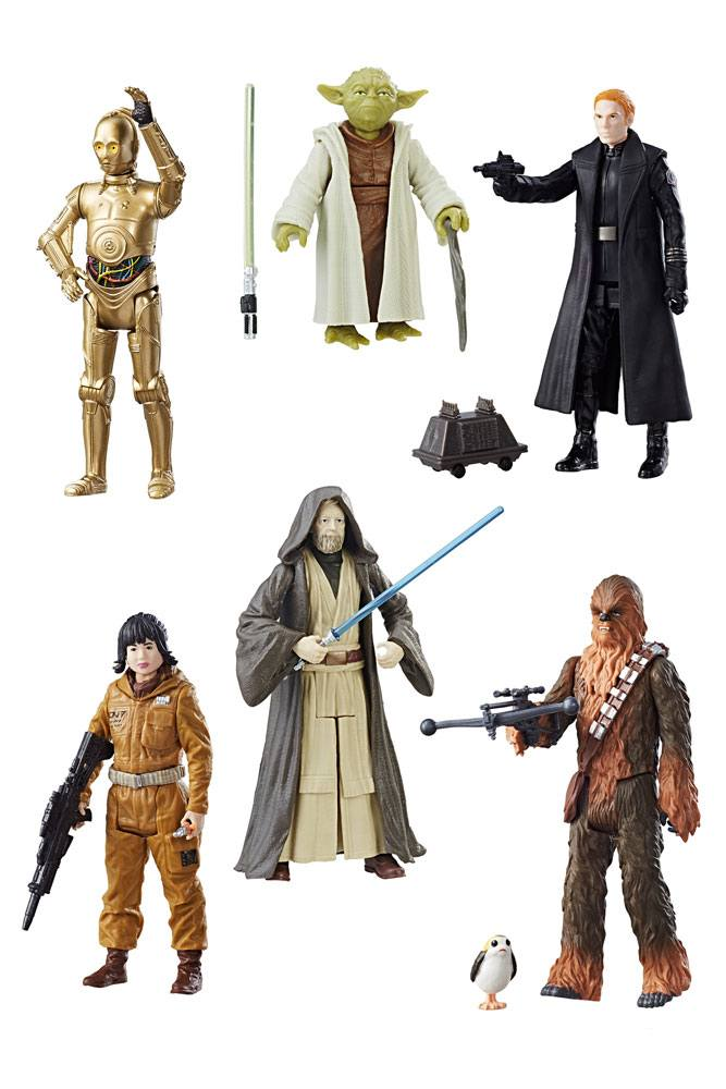 Star Wars Force Link Action Figures 10 cm 2017 Teal Assortment Wave 2 Assortment (12)
