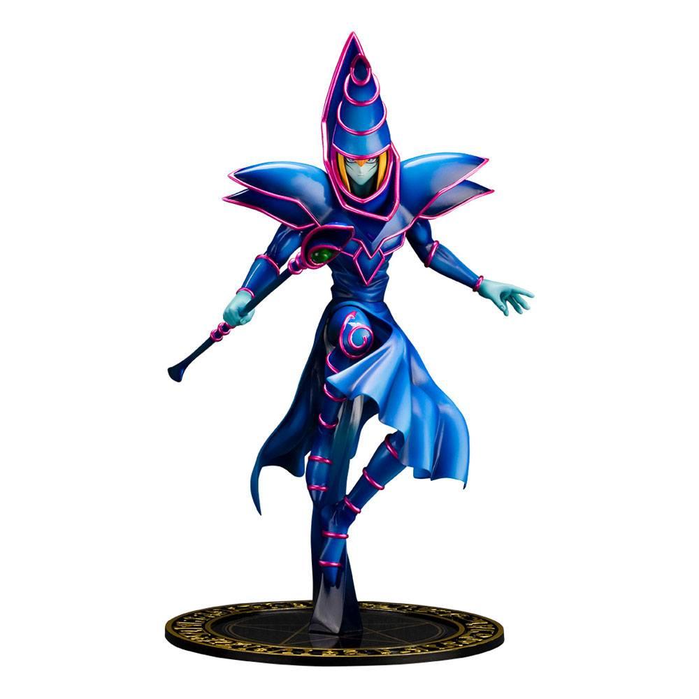 Yu-Gi-Oh! ARTFX J Statue 1/7 Dark Magician 30 cm --- DAMAGED PACKAGING