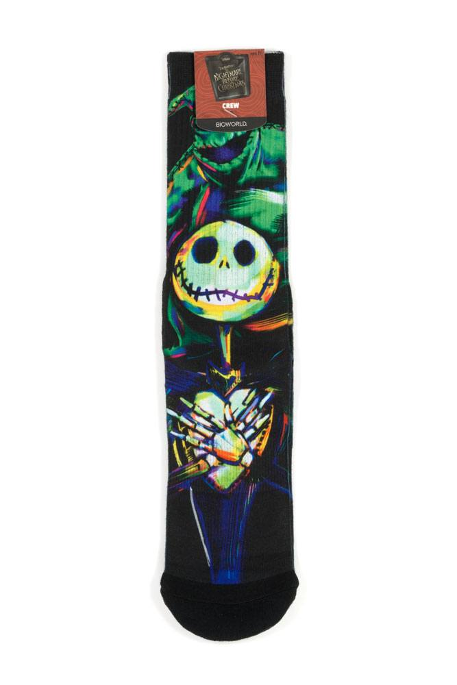 Nightmare before Christmas Socks Size 39-43 Case Jack & Oogie LC Exclusive (5)