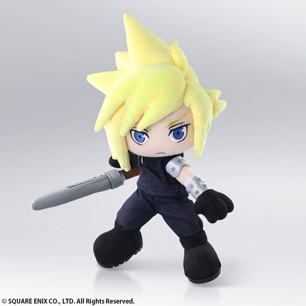 Final Fantasy VII Plush Action Doll Cloud Strife 30 cm