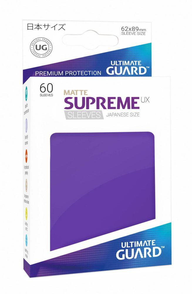 Ultimate Guard Supreme UX Sleeves Japanese Size Matte Purple (60)