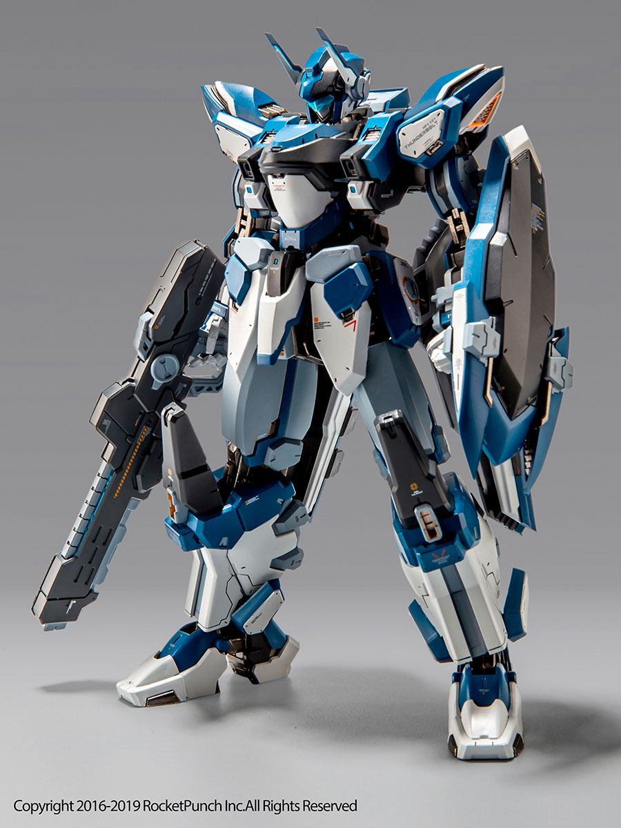 Hardcore Mecha Action Figure Thunderbolt 18 cm
