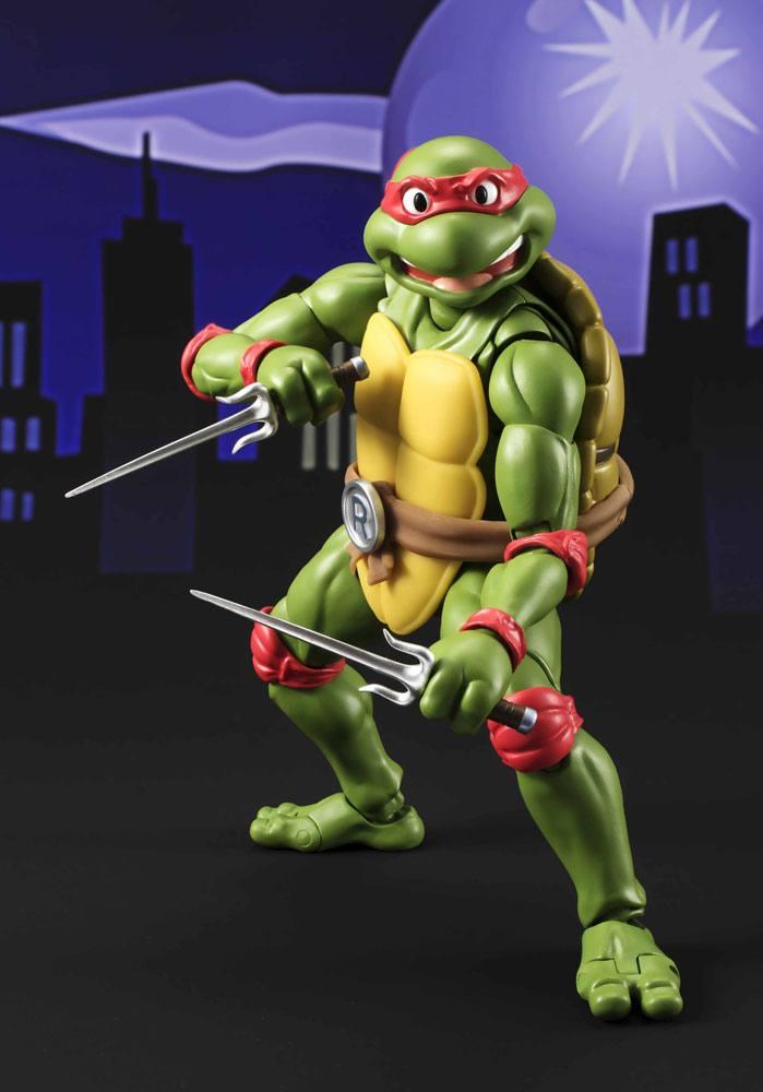 Teenage Mutant Ninja Turtles S.H. Figuarts Action Figure Raphael Tamashii Web Exclusive 15 cm