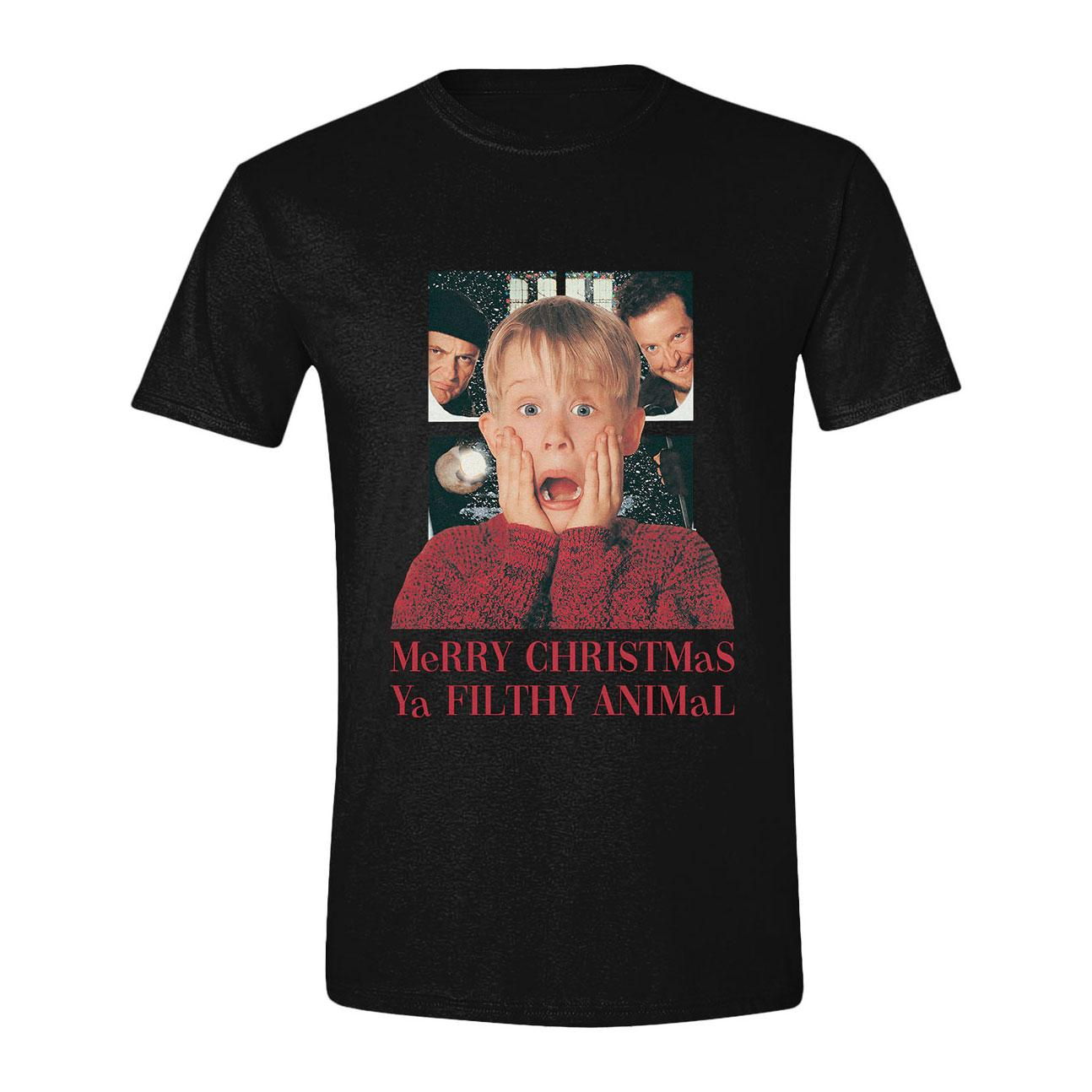Home Alone T-Shirt X-Mas Ya Filthy Size S