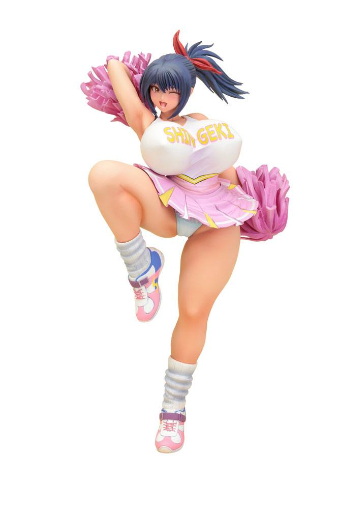 Comic Shingeki PVC Statue 1/6 Kyoku Taiheiten Cover Girl Saki Nishina 32 cm