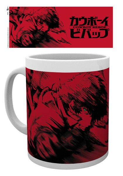 Cowboy Bebop Mug Spike Red