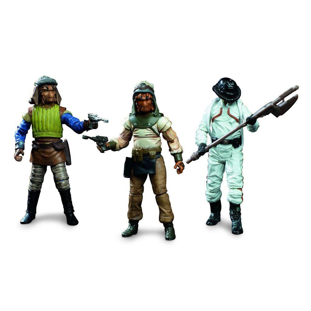 Star Wars Episode VI Vintage Collection Action Figures 3-Pack Skiff Guard Exclusive 10 cm