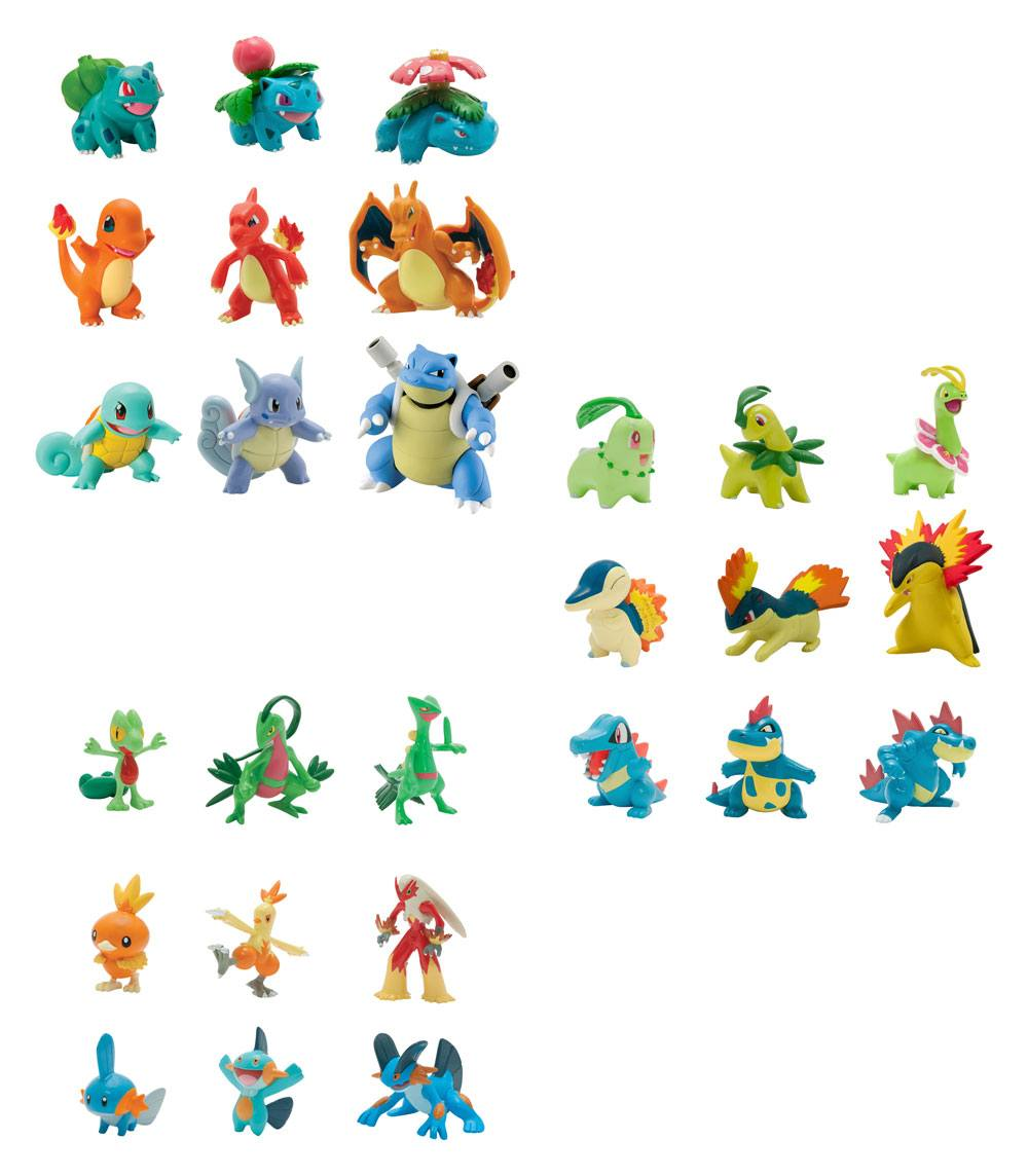 Pokemon Evolution Mini Figures 5 cm Multi-Pack Assortment L1 (4)