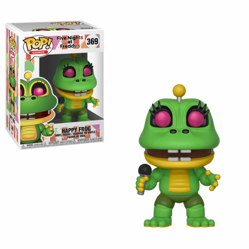 Five Nights at Freddy's Pizza Simulator POP! Games Vinyl Figure Happy Frog 9 cm
