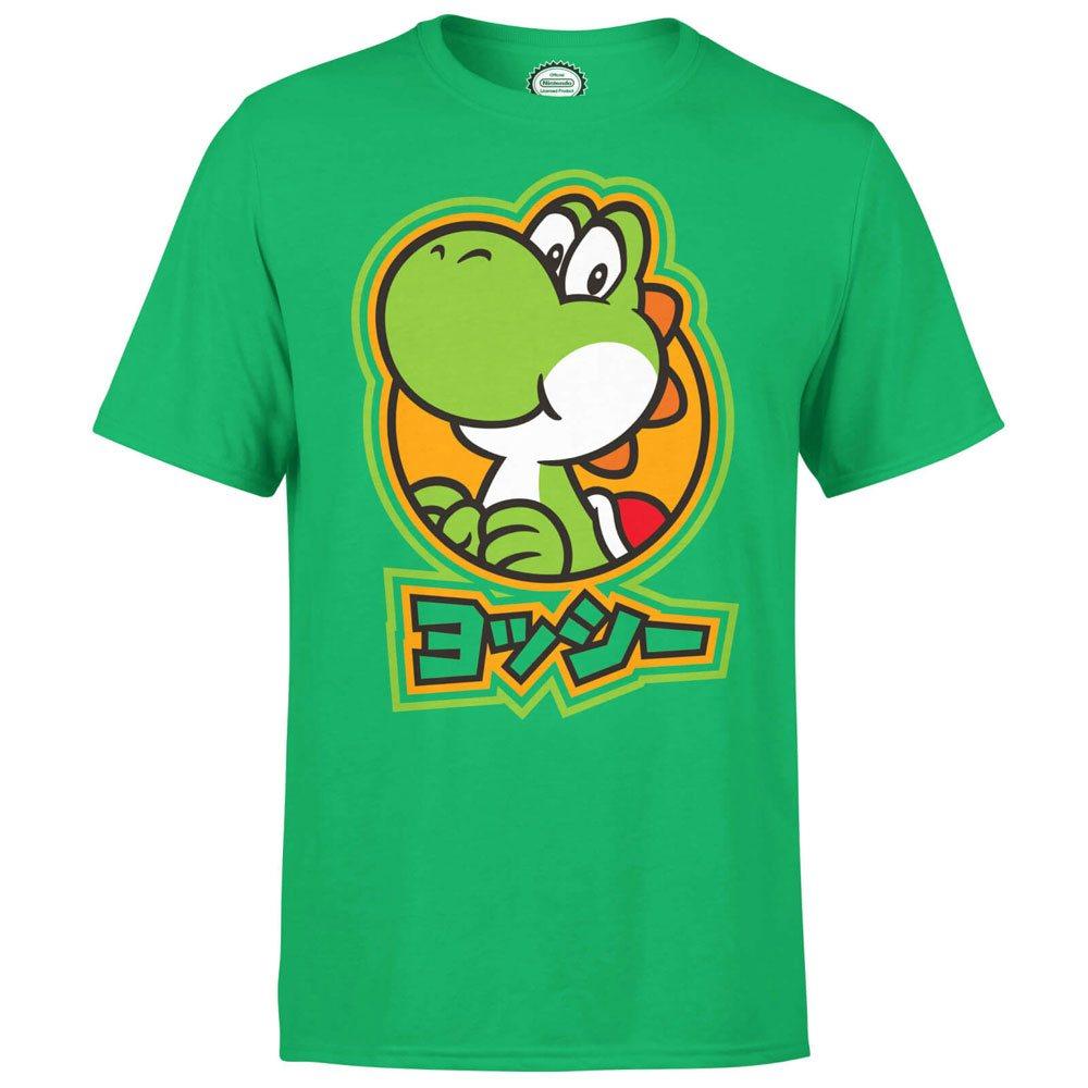 Nintendo T-Shirt Yoshi Kanji Size M