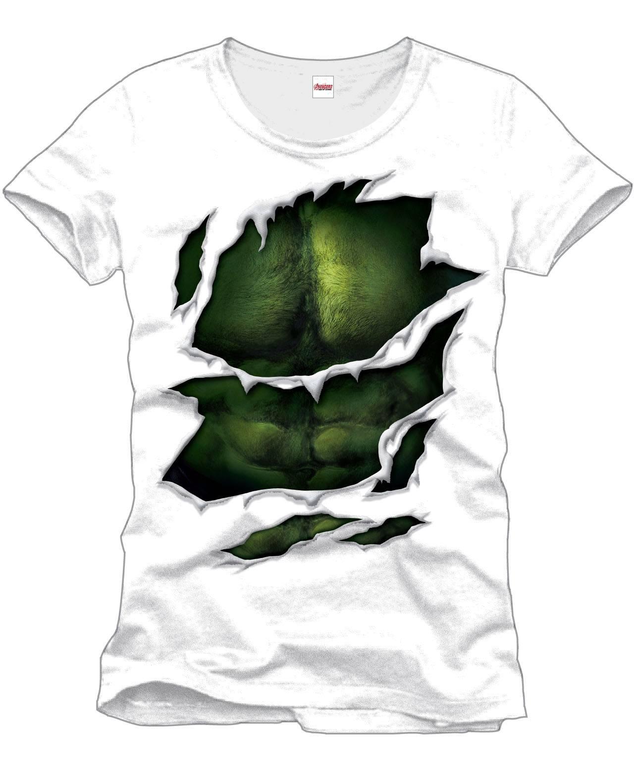 Hulk T-Shirt Suit Size L