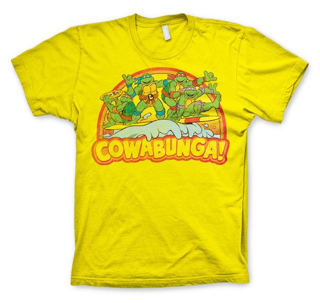 Teenage Mutant Ninja Turtles T-Shirt Cowabunga  Size L