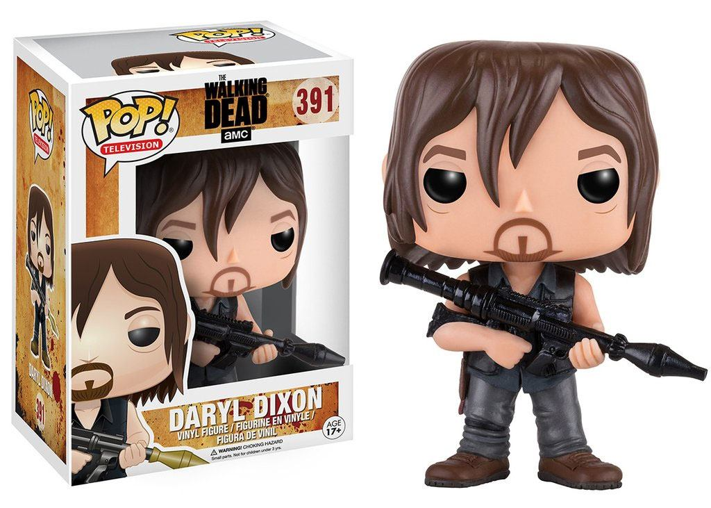 Walking Dead POP! Television Vinyl Figure Daryl Dixon (Rocket Launcher) 9 cm
