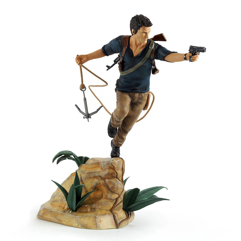 Uncharted 4 A Thief's End PVC Statue Nathan Drake 30 cm