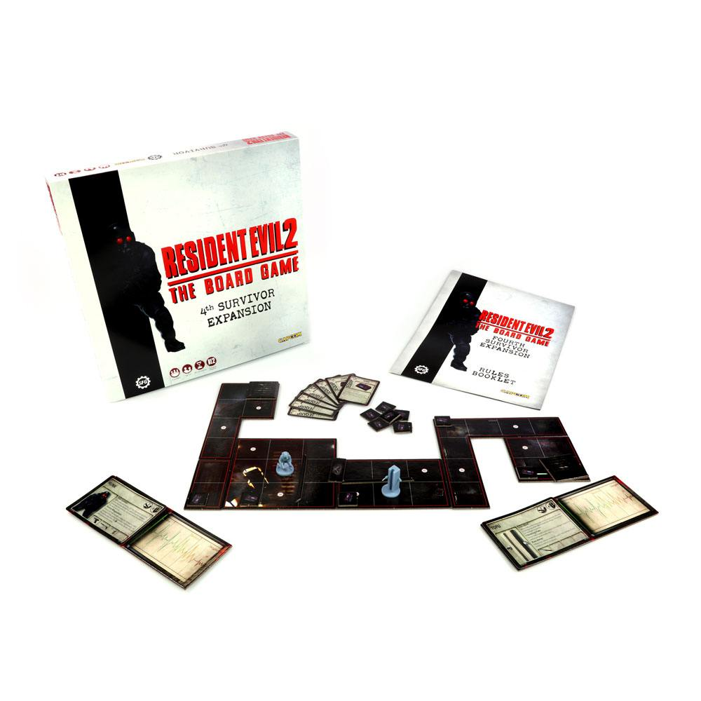 Resident Evil 2 The Board Game Expansion 4th Survivor *English Version*