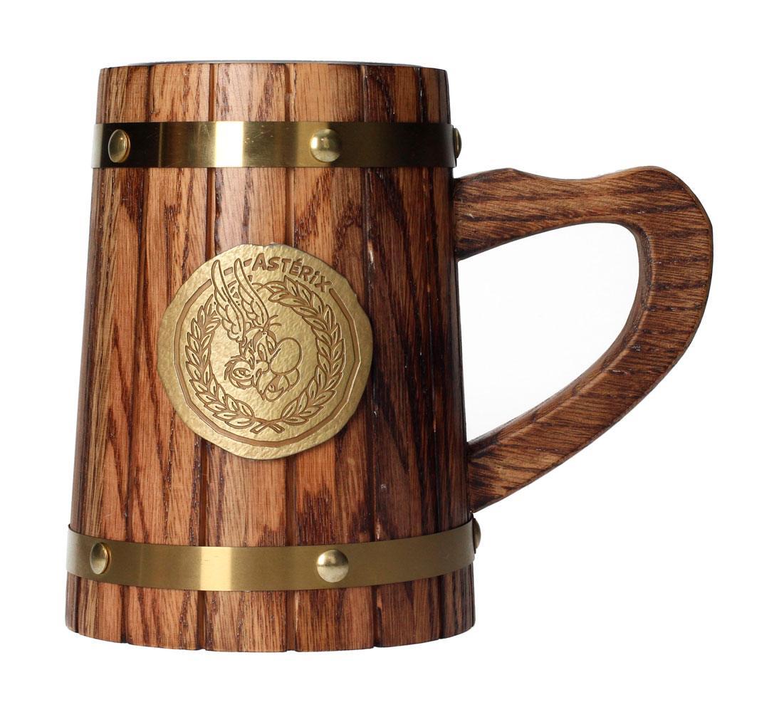 Asterix Wooden Beer Stein Asterix