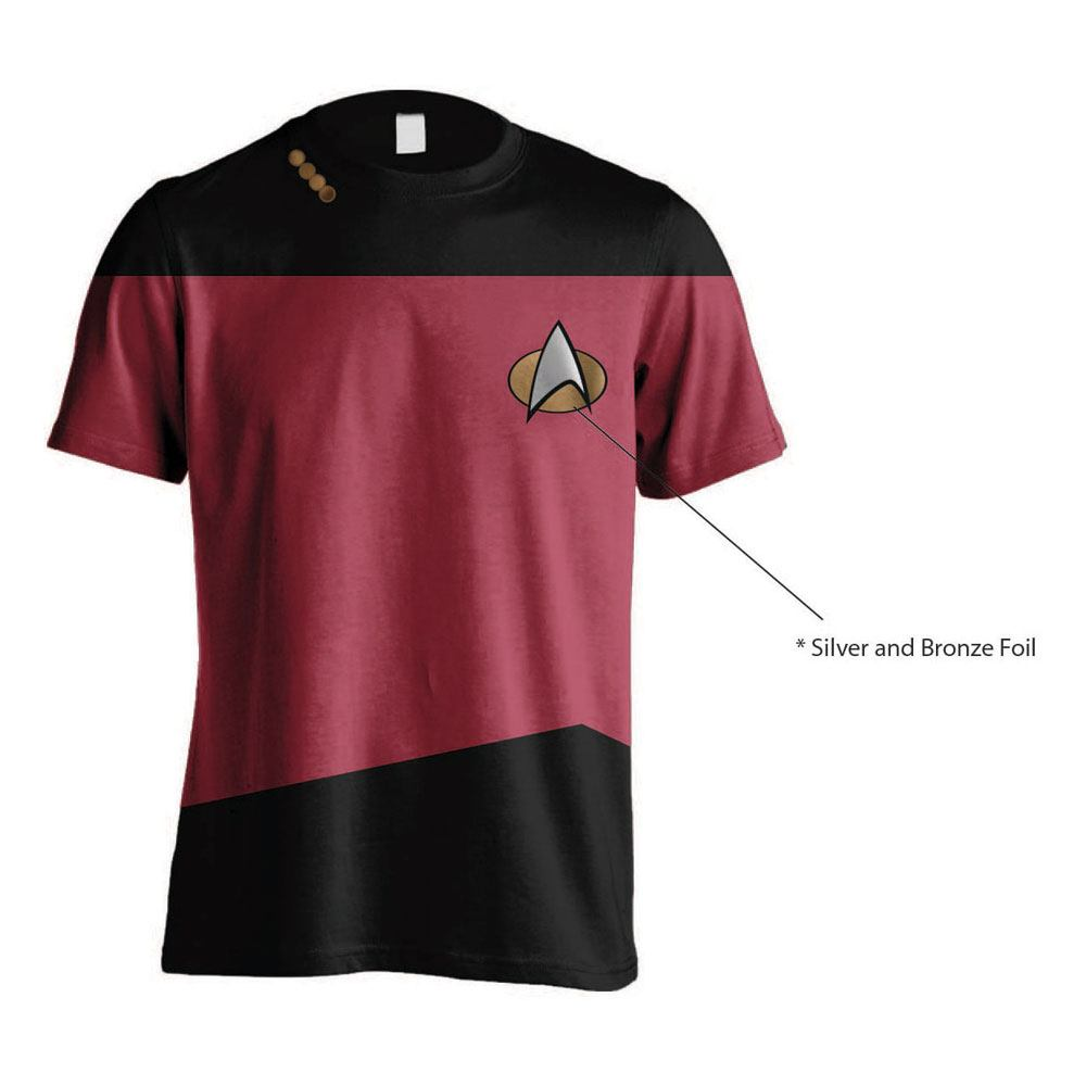 Star Trek T-Shirt Uniform Red Size S