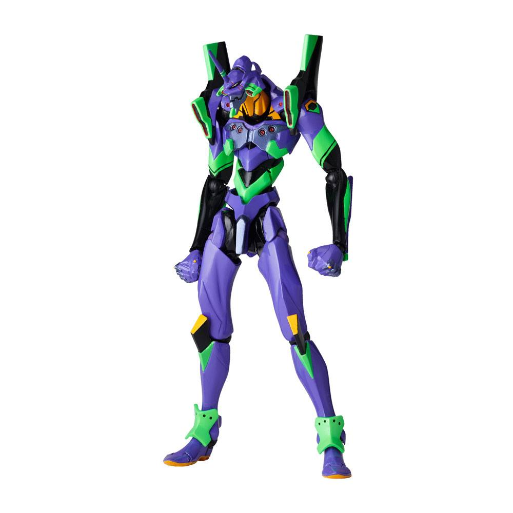 Evangelion Revoltech Action Figure EV-001S EVA Unit 01 New Packaging Ver. 14 cm
