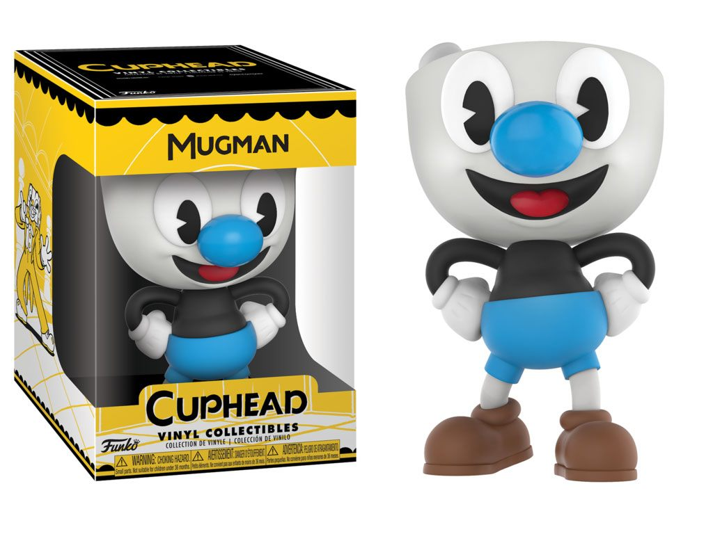 Cuphead Vinyl Collectible Figure Mugman 10 cm