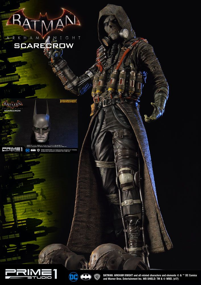 Batman Arkham Knight Statues Scarecrow & Scarecrow Exclusive 81 cm Assortment (3)