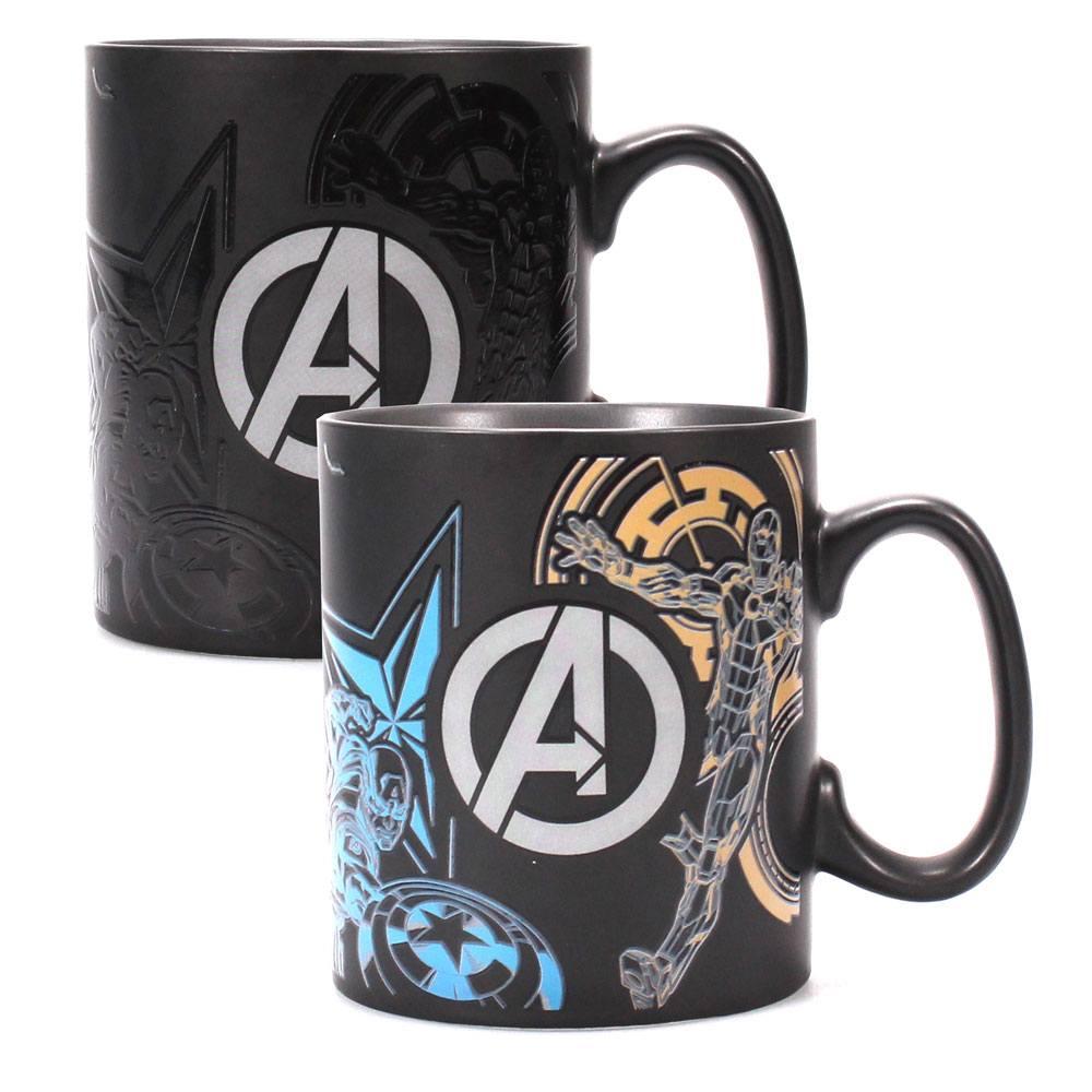 Marvel Comics Heat Change Mug Avengers