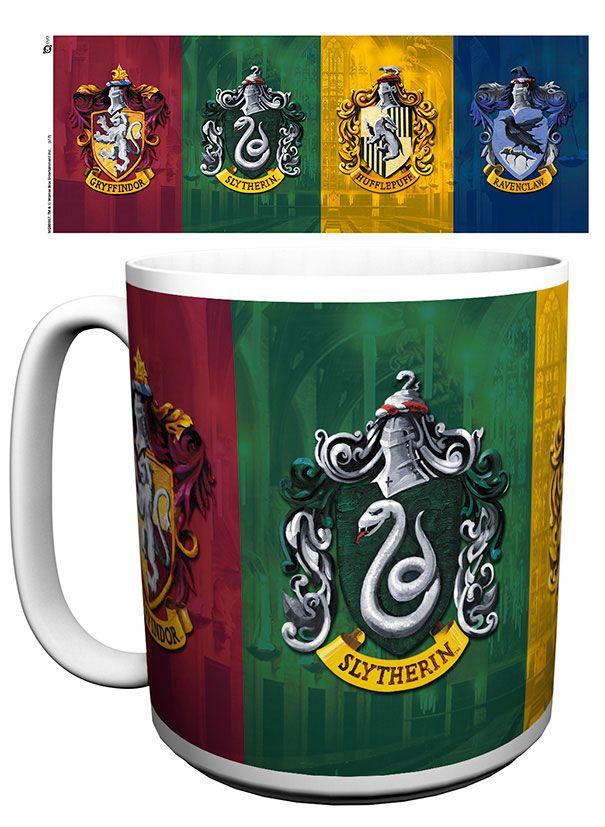 Harry Potter XL Mug Crests