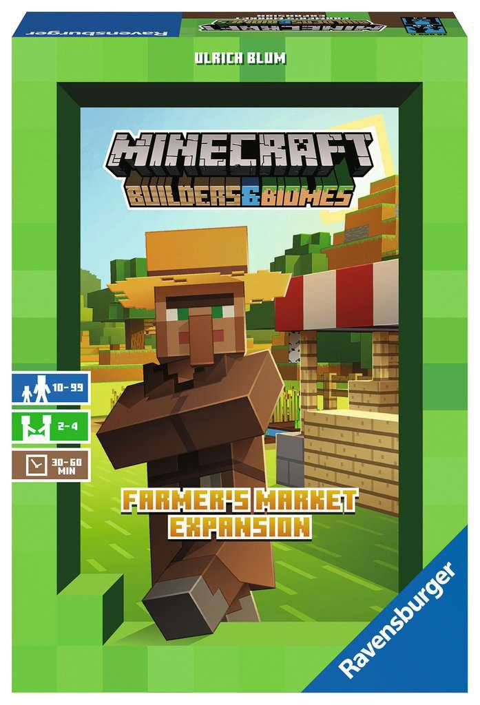 Minecraft Board Game Expansion Builders & Biomes: Farmers Mark