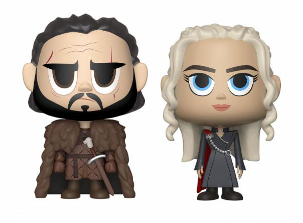 Game of Thrones VYNL Vinyl Figures 2-Pack Jon & Daenerys 10 cm