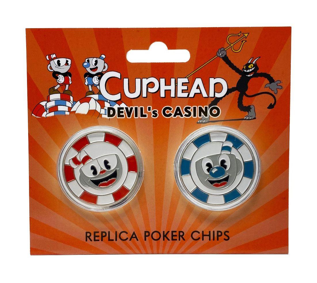 Cuphead Replicas Devil's Casino Poker Chips