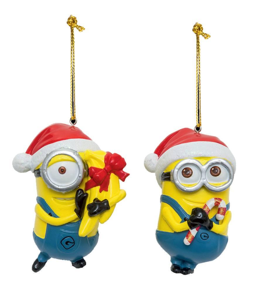 Despicable Me Tree Ornaments Dave & Stuart Assortment (6)