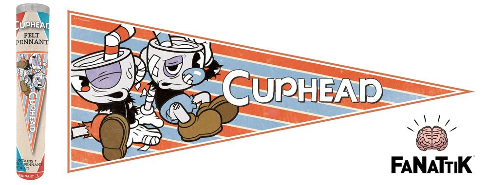 Cuphead Pennant Poster