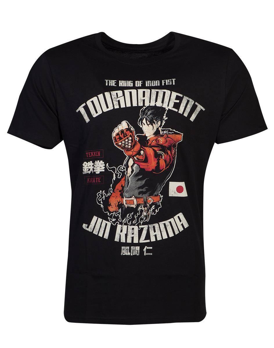 Tekken T-Shirt Jin Kazama Size L