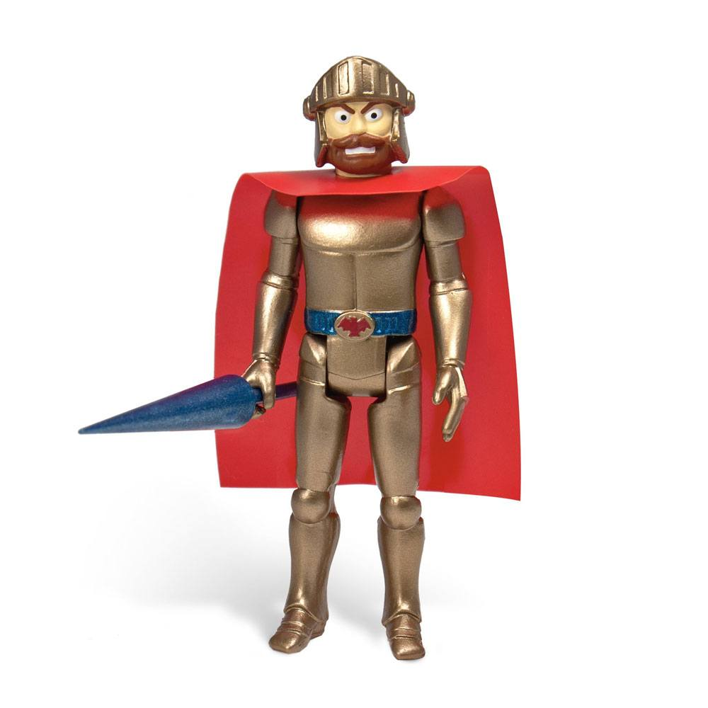 Ghosts 'n Goblins ReAction Action Figure Magic Armor Arthur (Gold) 10 cm
