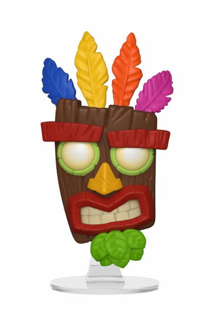 Crash Bandicoot POP! Games Vinyl Figure Aku Aku 9 cm