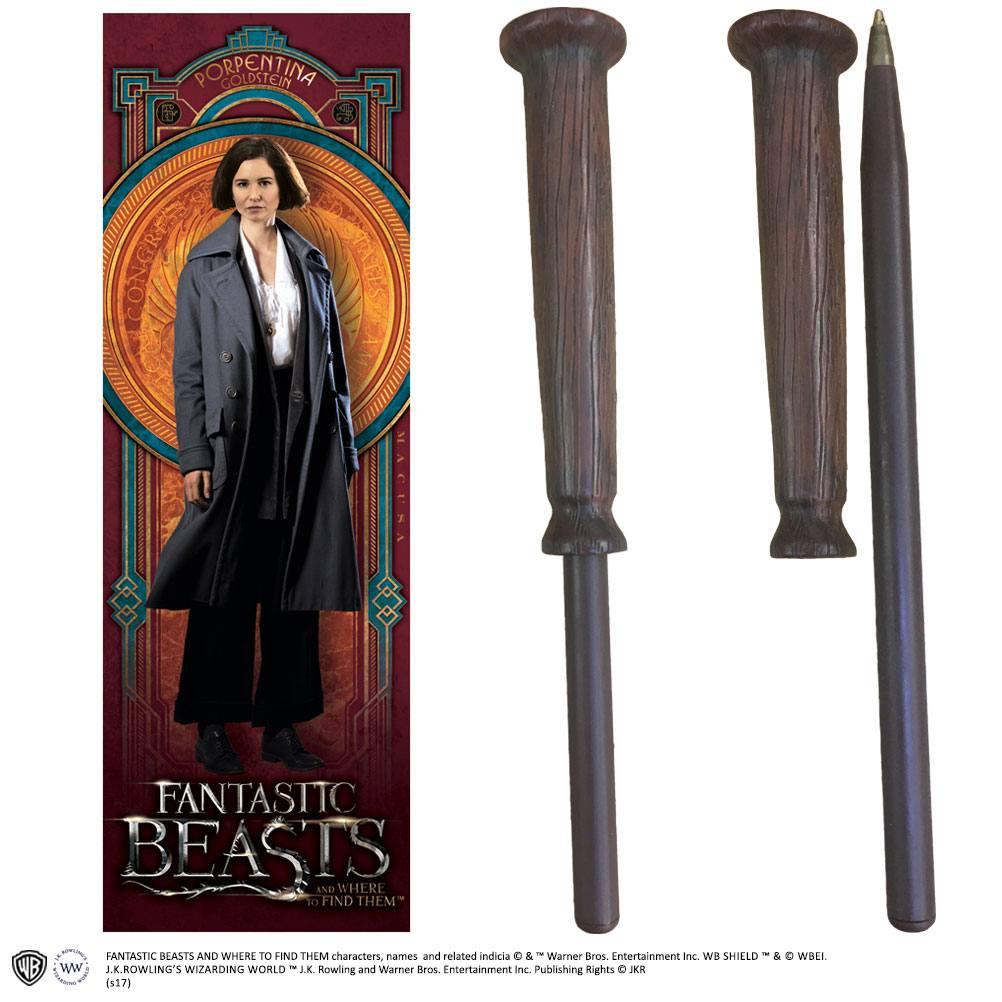 Fantastic Beasts Pen & Bookmark Porpentina Goldstein