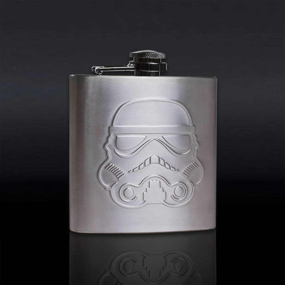 Original Stormtrooper Hip Flask Helmet