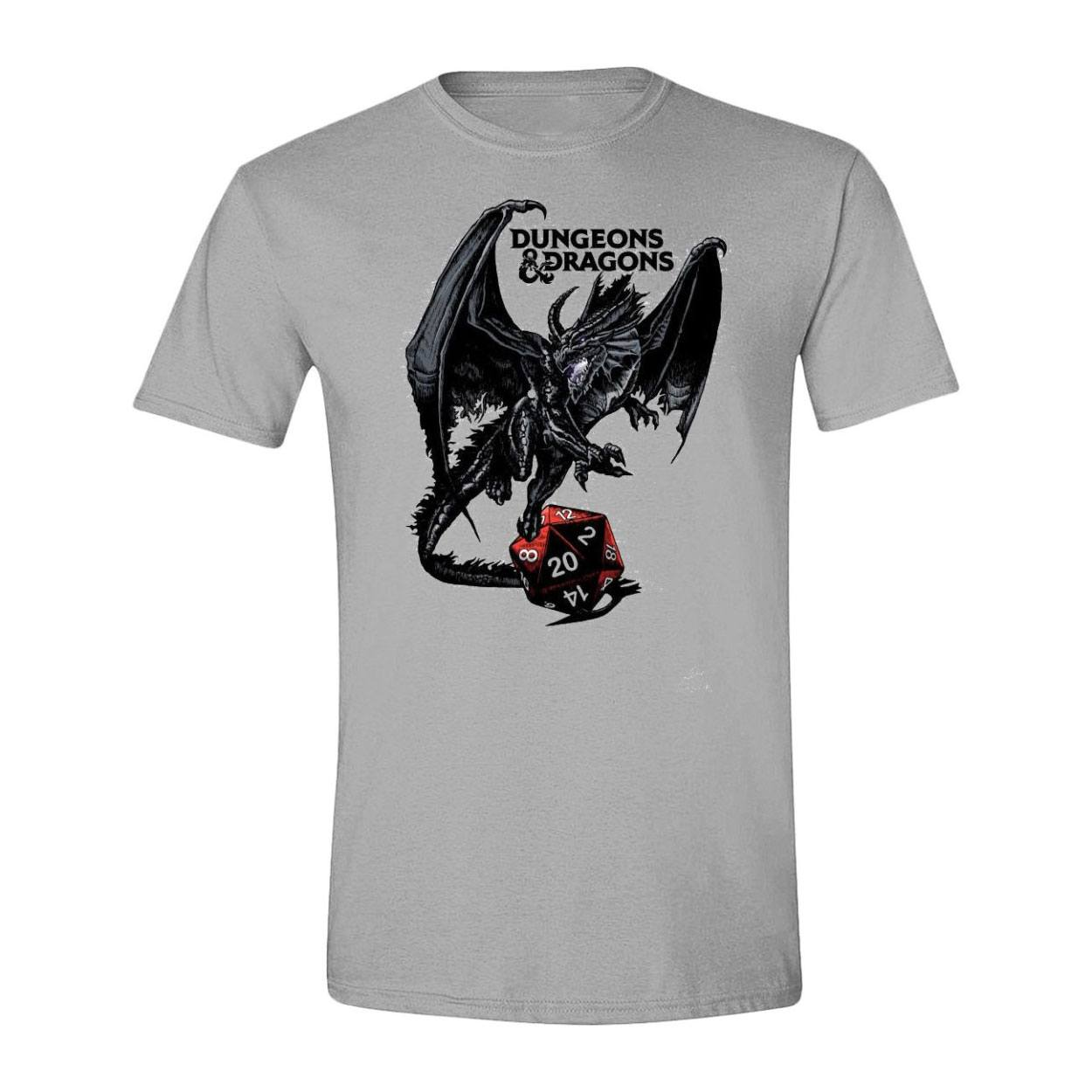 Dungeons & Dragons T-Shirt Dragon Logo Size L